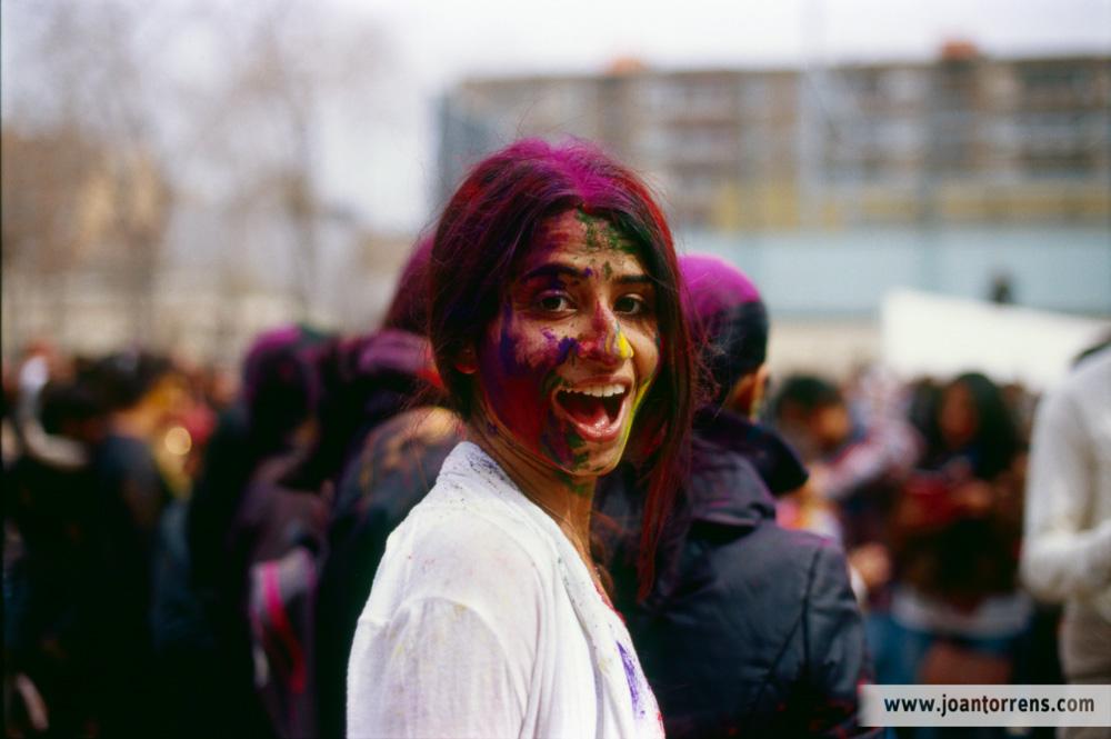 Fotos del Holi Festival en Barcelona