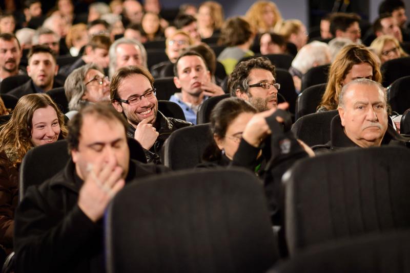 """Expectadores tras la proyección del documental """"El último foto"""