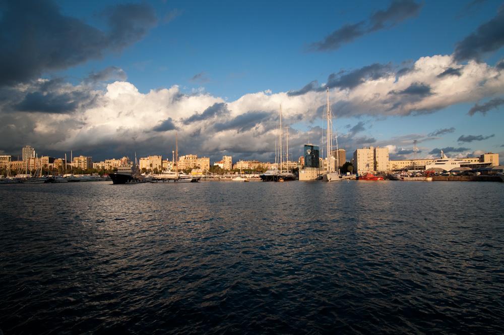 Composició i fotografia urbana a la Barceloneta