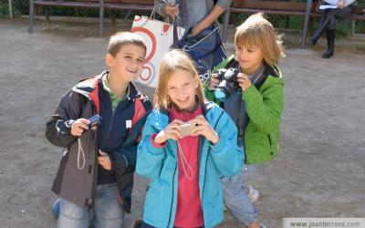 Fotos del taller infantil per Ciutat Vella