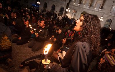 Protesta contra la impunitat policial del 27M, Barcelona