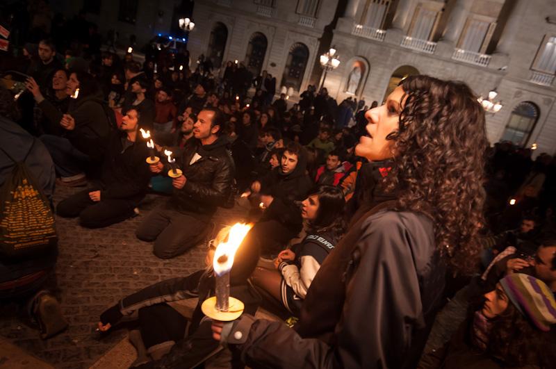 protesta 27m, barcelona joan torrens