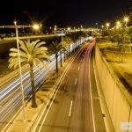 Fotografia Nocturna a Diagonal Mar