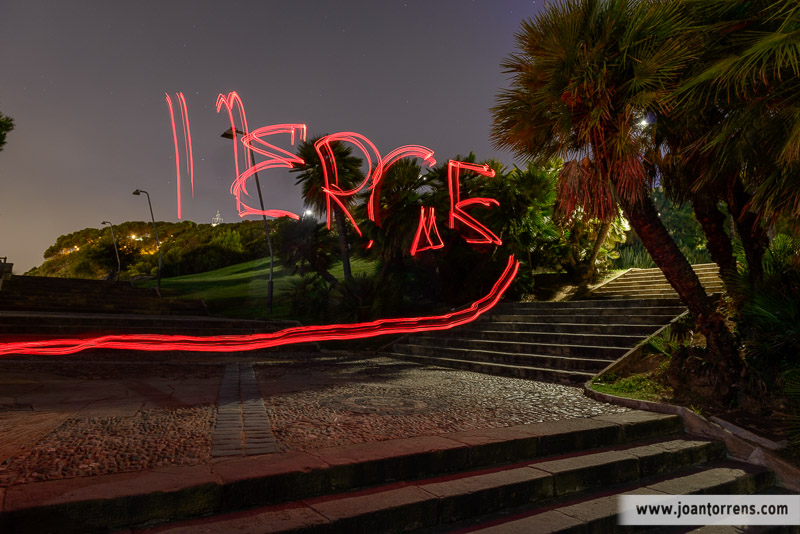 Fotografia nocturna i Focs Artificials