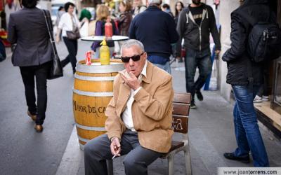 Composició i fotografia urbana al Barri de Gràcia