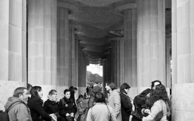 Passejada foto-històrica al Parc Güell