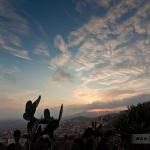 Posta de sol al Parc del Guinardó. MATERIA bcn i Joan Torrens