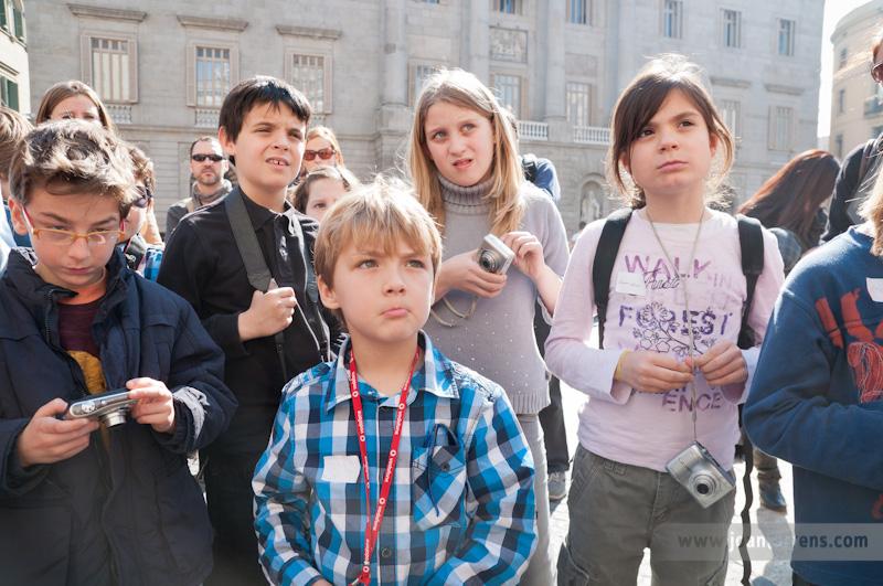 Taller infantil de fotografia i història a la Barceloneta, 29 d'abril
