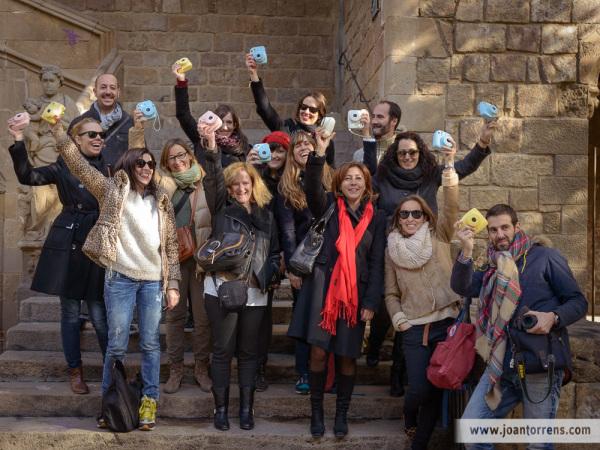 Ruta foto-histórica #instaxday con @t6photo y @materiabcn