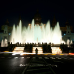 Night photo, long exposure, joan torrens, joantorrens.com, fotografia nocturna, joan torrens, llarga exposició, , montjuïc, montjuic, barcelona fountain, fontana, barcelona,