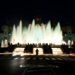 Night photo, long exposure, joan torrens, joantorrens.com, fotografia nocturna, joan torrens, llarga exposició, , montjuïc, montjuic, barcelona fountain, fontana, barcelona,