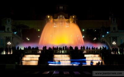 Passejades fotogràfiques: Montjuïc de nit