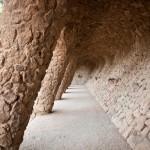 Túnel Palmeres Parc Güell passejades fotogràfiques panoràmica Barcelona Joan Torrens