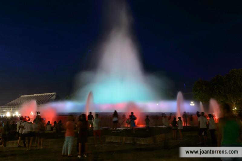 Cicle d'estiu: Fotografia nocturna a Montjuïc