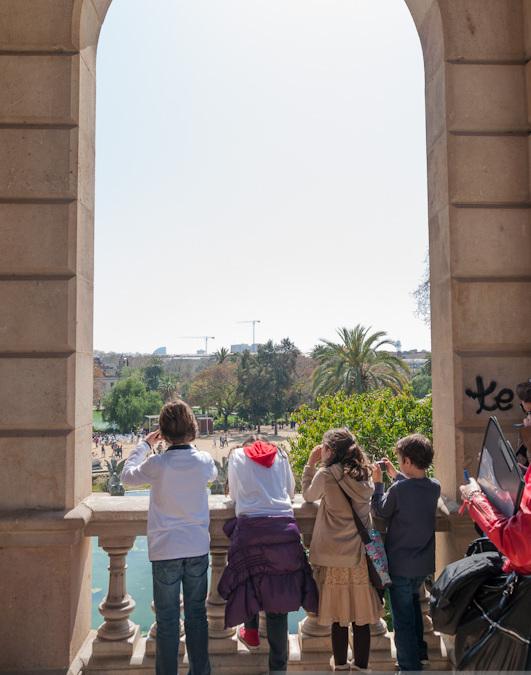 Taller de fotografia infantil als Parcs de Montjuïc
