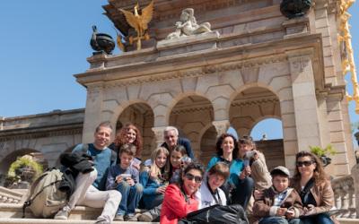 Fotos del taller infantil a la Ciutadella