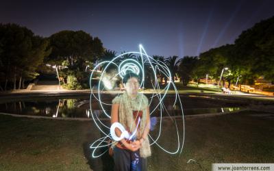 Fotos del taller de fotografia nocturna al Castell de Montjuïc