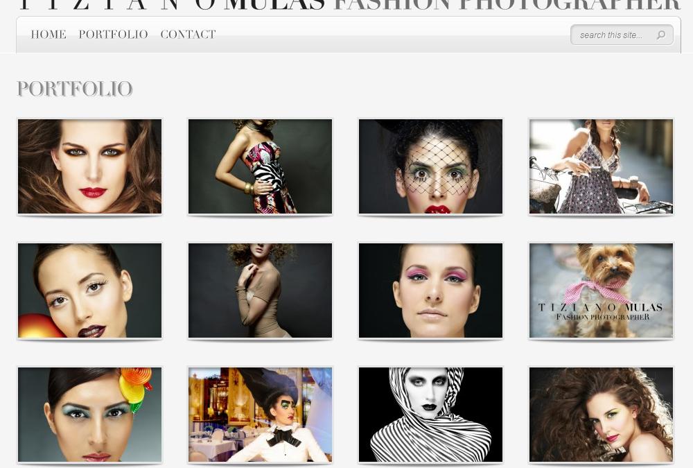 Nova web per Tiziano Mulas